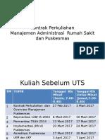 Kontrak Perkuliahan Feb 2017