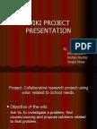 Presentación wikis