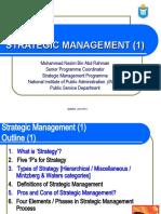 Overall View of Strategic Management-Mr.Muhammad Nazim Abd Rahman