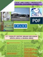 Patient & Family Orientated Activities