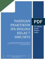 Panduan Praktikum Ipa Biologi Kelas 7 Smp