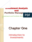 Introduction to Investments Chap 1