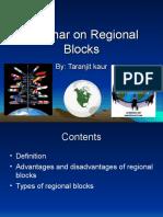 Seminar on Regional Blocks.ppt