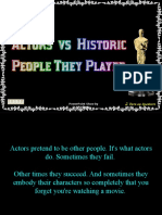 Actors - Versus Historic People They Played - Andrew