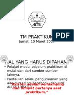 TM Aturan Praktikum