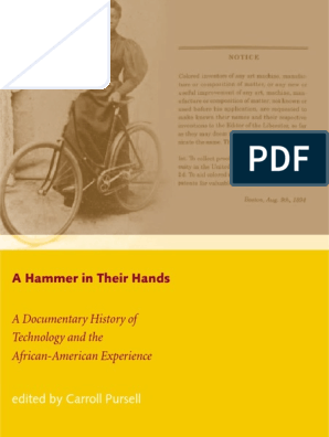 A Hammer in Their Hands A Documentary History of Technology