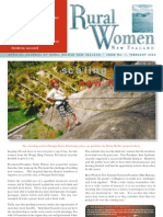 February 2003 Rural Women Magazine, New Zealand