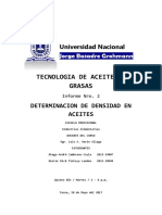2do LAB Determinacion de Densidaden Acietes