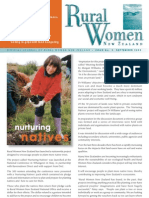 September 2003 Rural Women Magazine, New Zealand