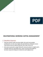 intnl cash management
