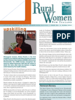 October 2004 Rural Women Magazine, New Zealand