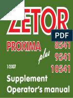 Proxima PLUS TIER III Supplement GB