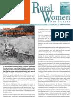 February 2005 Rural Women Magazine, New Zealand