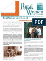 April 2005 Rural Women Magazine, New Zealand