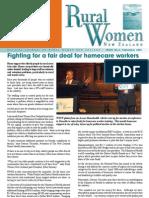 August 2005 Rural Women Magazine, New Zealand