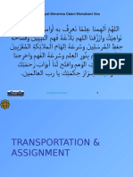 L07 MGT 3050 Transportation Assignment