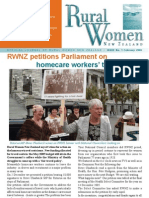 February 2006 Rural Women Magazine, New Zealand