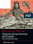 Historia de Las Formas Del Esta - Dalmacio Negro Pavon