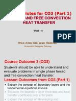 Week 6 Heat Transfer Lecture