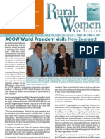 March 2007 Rural Women Magazine, New Zealand