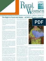 September 2007 Rural Women Magazine, New Zealand