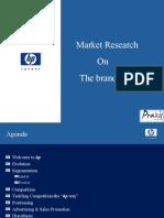 Marketing PPT on Hewlett Packard