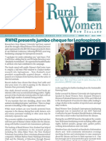 June 2008 Rural Women Magazine, New Zealand