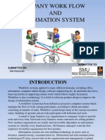 Company Work Flow and Information System