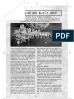 House rules Inquisition Black Ship