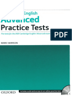 advanced practice tests with key
