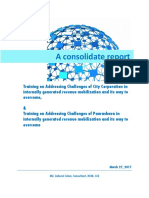 A Consolidate Report _FM2 Trainings _27.03.17