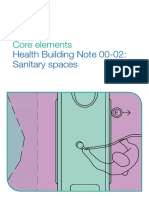 Health Building Note 00-02 Designing Sanitary Spaces