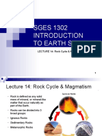 SGES 1302 Lecture14-Mt15nexerc-Rock Cycle and Magmatism