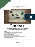 1.Dire, Fare, Partire 2016 Lezione 1.pdf