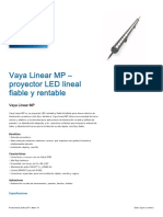 Vaya Linear MP proyector LED lineal.pdf