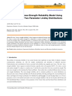 Estimation of Stress-Strength Reliability Model Using