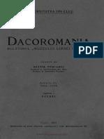 Dacoromania 1924-26 Capidan Romanii Nomazi
