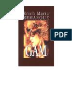 REMARQUE, Erich Maria - Gam (v0.8)