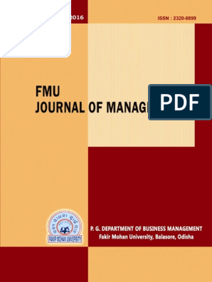 FMU Journal 2016 pdf | Capital Structure | Cost Of Capital
