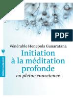 Initiation a La Meditation Profonde - Venerable Henepola Gunaratana