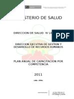 PLAN DE CAPACITACION 2011 - Simon.doc