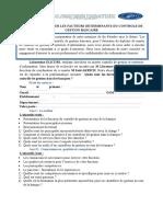 Guide d'Entretien