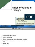 Transportation Problems in Yangon.pptx