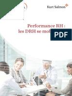 2011_Etude_Performance RH . Les DRH Se Mobilisent