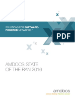 Amdocs 2016 State of the RAN Report