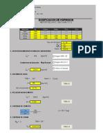Diseño de Concretos Excel