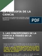 Tema 4 La Filosofía de La Ciencia