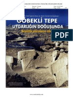 Göbekli Tepe Uygarligin Dogusunda Neolitik Sölenlerin Izleri