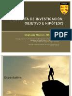 Pregunta Hipotesis Objetivos SMT