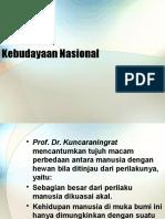 Kebudayaan Nasional Part 1